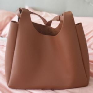 Neiman Marcus Vegan Leather Tote Bag